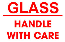 Photo of Packing Glass Handle With Care