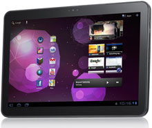 Photo of Samsung Galaxy Tablet