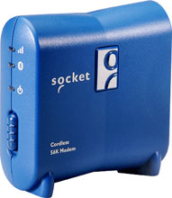 Photo of Socket Cordless 56K Modem V.92