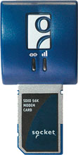 Photo of Socket SDIO 56K Modem Card V.92