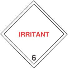 Photo of Warning Irritant