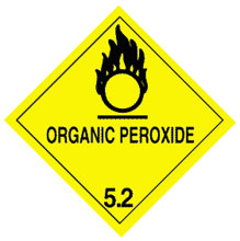 Photo of Warning Organic Peroxide