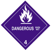 Photo of Warning Dangerous When Wet