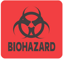 Photo of Warning Biohazard