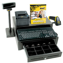 Photo of Wasp QuickStore POS Hardware & Software Solution Bundle