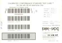 Photo of Webscan Calibration Cards