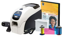 Photo of Zebra ZXP 3 ID Card Printer System