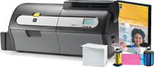 Photo of Zebra ZXP 7 ID Card Printer System ID Printer Ribbon
